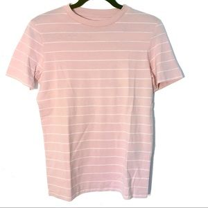 Selected Femme Pink Stripe Tee (NWT, XS)